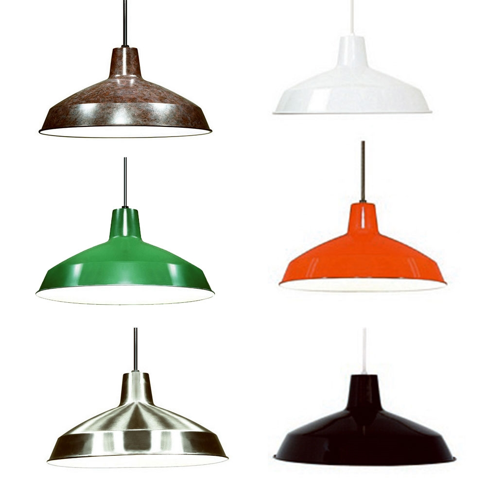 Warehouse Style Pendant Light Fixtures