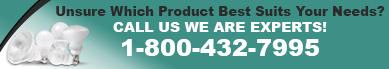 Still unsure which product you need? Call Us 1-800-432-7995